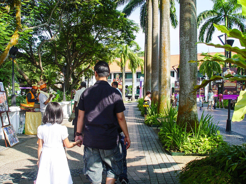 sentosa, Singapore Trip with The Family