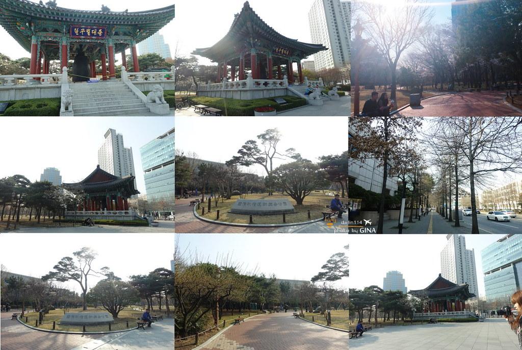 【大邱市區賞櫻】國債報償運動紀念公園(국채보상운동기념공원)+紀念館(近東城路)附交通地圖 @GINA環球旅行生活|不會韓文也可以去韓國 🇹🇼