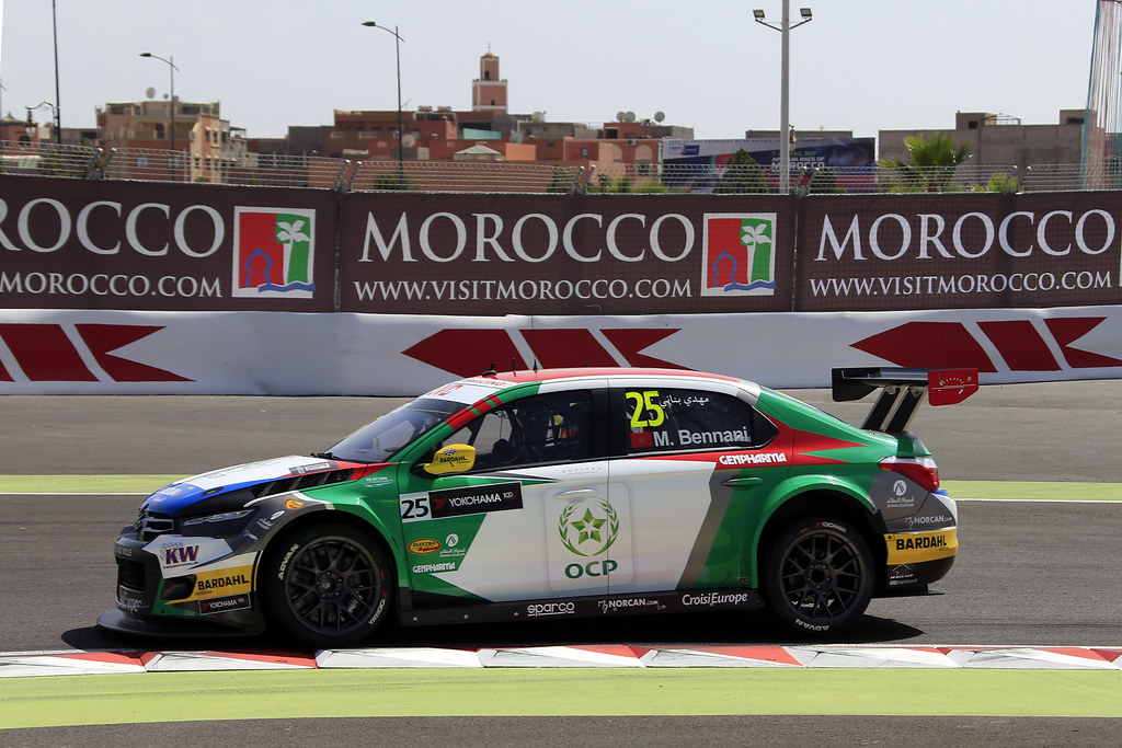 25 BENNANI Mehdi (mor) Citroën C-Elysée team Sébastien Loeb Racing action during the 2017 FIA WTCC World Touring Car Race of Morocco at Marrakech, from April 7 to 9 - Photo Paulo Maria / DPPI