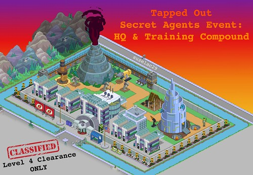 Tapped Out Secret Agents Design by suzelac29