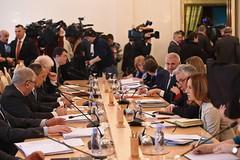 Встреча Федерики Могерини, Верховного Представителя ЕС по иностранным делам и политике безопасности и Заместителя Председателя Европейской Комиссии, с Сергеем Лавровым, Министром иностранных дел Российской Федерации