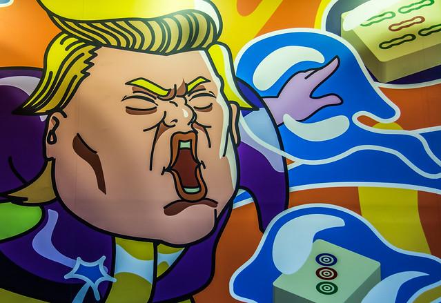 Trump's deft hand at Mahjong