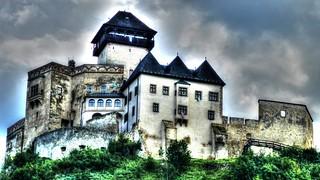 Trenčín Castle, Slovakia, Europe