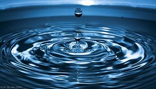 Gotas d'Água. (Water Drops)