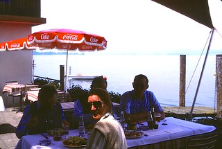 Switzerland   -   Lunch on the Bodensee   -   May 1986