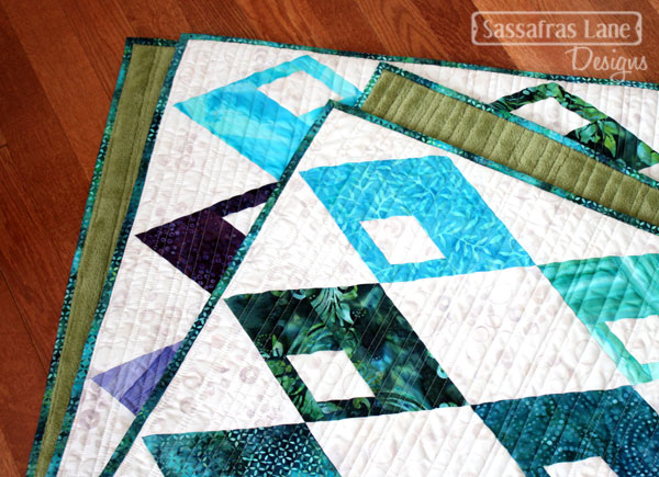 Diamond Detour in Batiks!