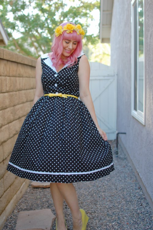 Modcloth Love You Brunches Hell Bunny Karen dress 003