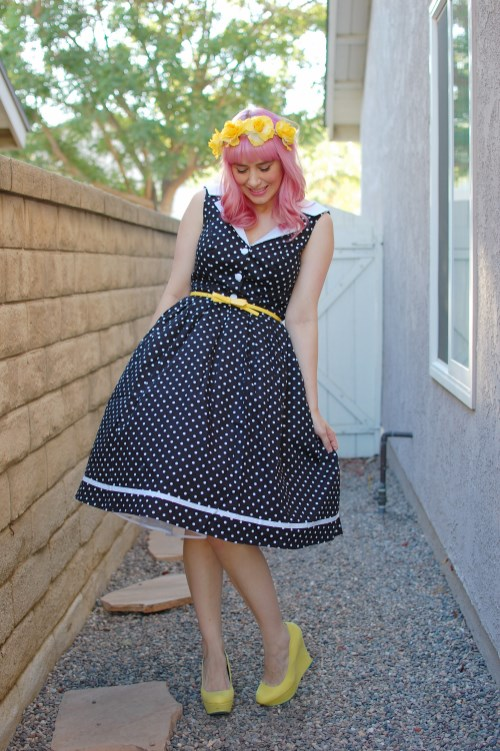 Modcloth Love You Brunches Hell Bunny Karen dress 008
