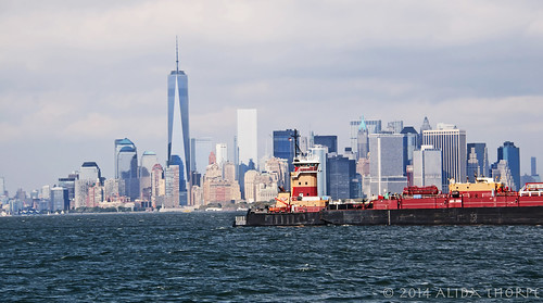 Tug in NY Harbor
