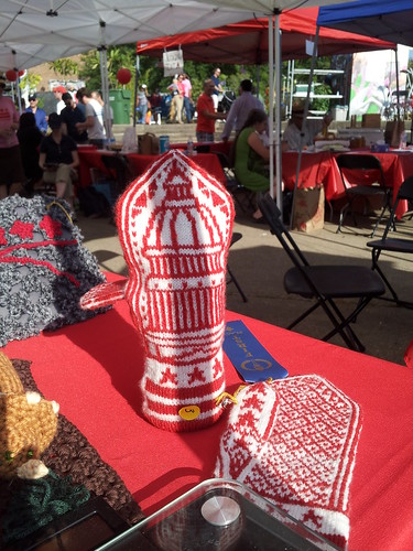 Blue Ribbon Mittens at the D.C. State Fair