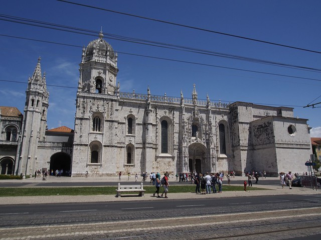 Monastery, Jeronimos, Lisbon, Portugal, travel