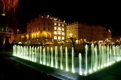 Rynek Główny by night
