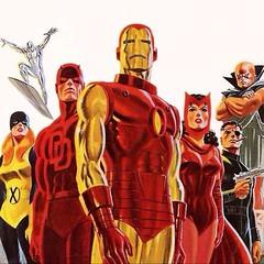 John Romita does the Marvel B-Team (circa 1975). #comics