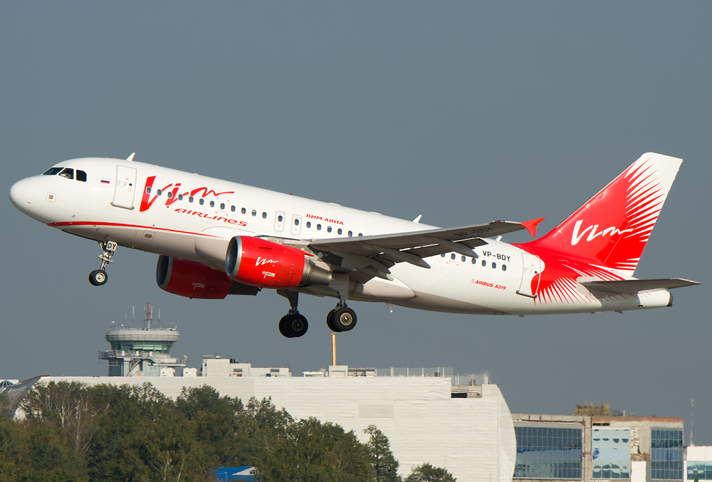 VP-BDY VIM Airlines Airbus A319-111