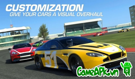 Real Racing 3 v4.1.5 hack full cho Android