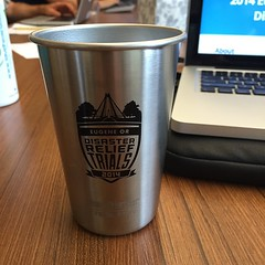 Check out the awesome #EugeneDRT Stainless Pint we are selling for the event.