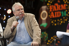 Farm Aid Press Conference on September 13, 2014 in Raleigh, North Carolina.