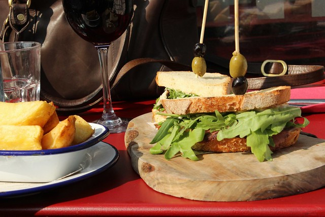 the narrow boat sandwich