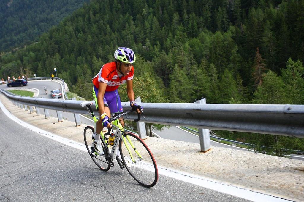 Aru in azione al Valle d'Aosta 2011