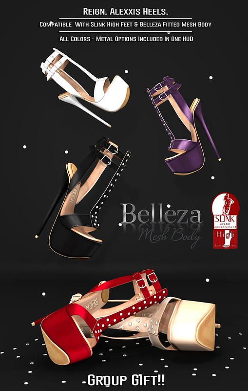REIGN.- ALEXXIS HEELS (GROUP GIFT)