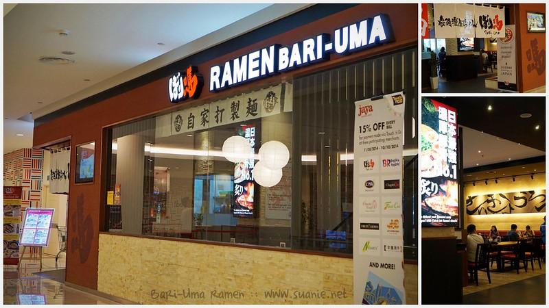 Bari-Uma Ramen Malaysia - Jaya Shopping Centre