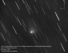 Comet Siding Spring Image