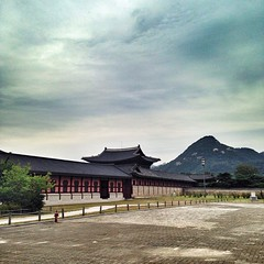 Gyeongbokgung (경복궁), also known as #Gyeongbokgung Palace or Gyeongbok Palace, is a royal palace located in northern Seoul, South Korea. First constructed in 1395, later burned and abandoned for almost three centuries, and then reconstructed in 1867,