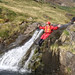 Gorge descent Snowdonia Year 9 residential