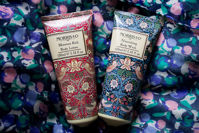 Morris & Co Nourishing Body Wash and Moisture Rich Body Lotion