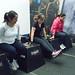 Gaby, Elisa y Cristina