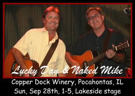 Lucky Dan & Naked Mike 9-28-14