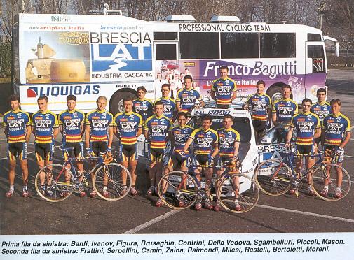 Brescialat - Liquigas 1998