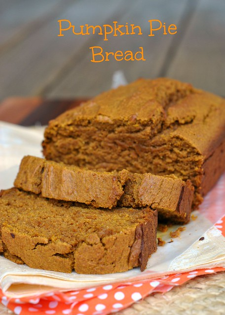 Pumpkin Pie Bread 1