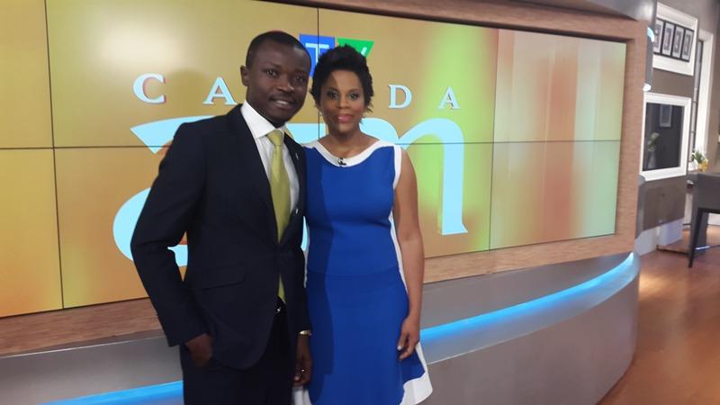 Jefferson with CTV's Marci Len