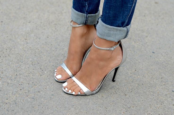 DSC_8353 Zara Silver Metallic Strapped Heels