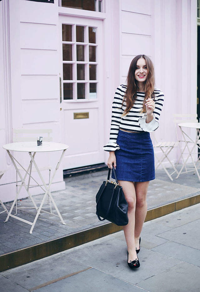 What Olivia Did Nautical Sixties Outfit ASOS Zara