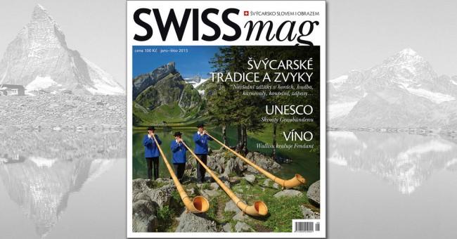 Rekordný SWISSmag c. 08 - jar/leto 2013