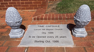 Locust Hill Baptist Church time capsule