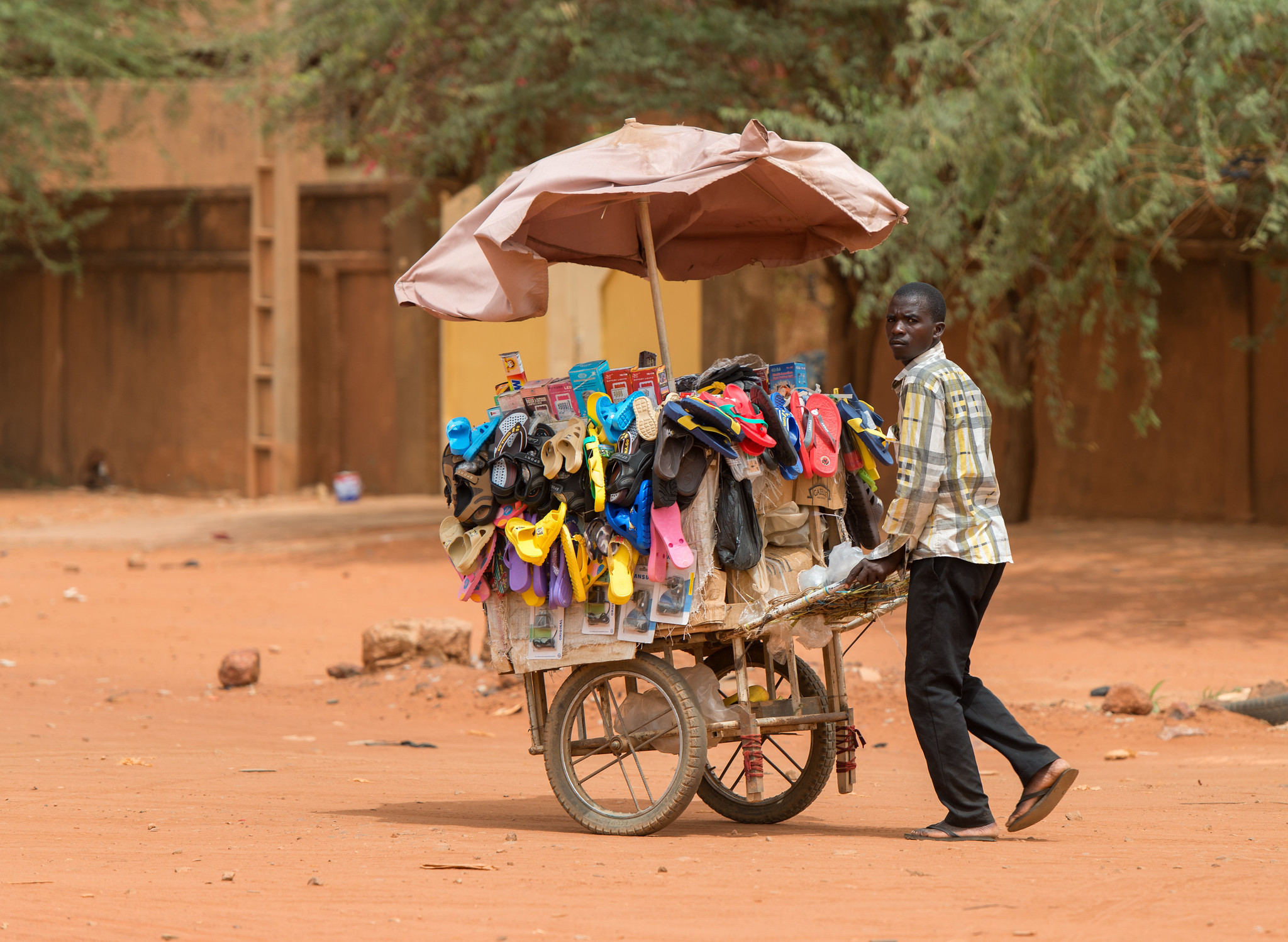 Street Shoe Seller