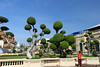 Dr Seuss trees at the Grand Palace