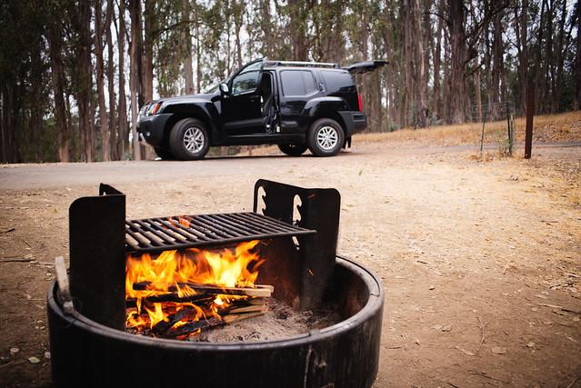 camping bonfire :)
