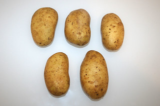 15 - Zutat Kartoffeln / Ingredient potatoes