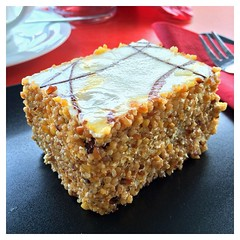 carrot cake, baked goods, food, dish, dessert,