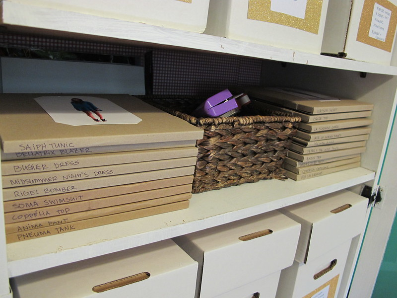 Organizing My Pattern Stash | LLADYBIRD