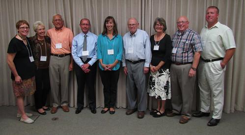 2014-2015 Board of Directors: Carolyn Yurick, Linda Seleen, Pierre Chagnon, Pete Lombardi, Ellen Paquette, Bob Sokolski, Jane Conroe, Steve Maggio, Nate Welker
