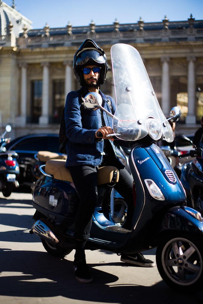 Street Style - Talal, Paris Fashion Week