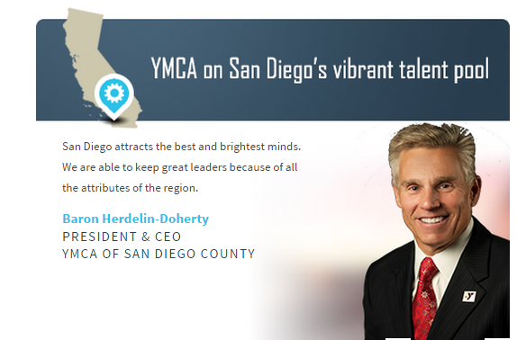YMCA on San Diego's talent pool