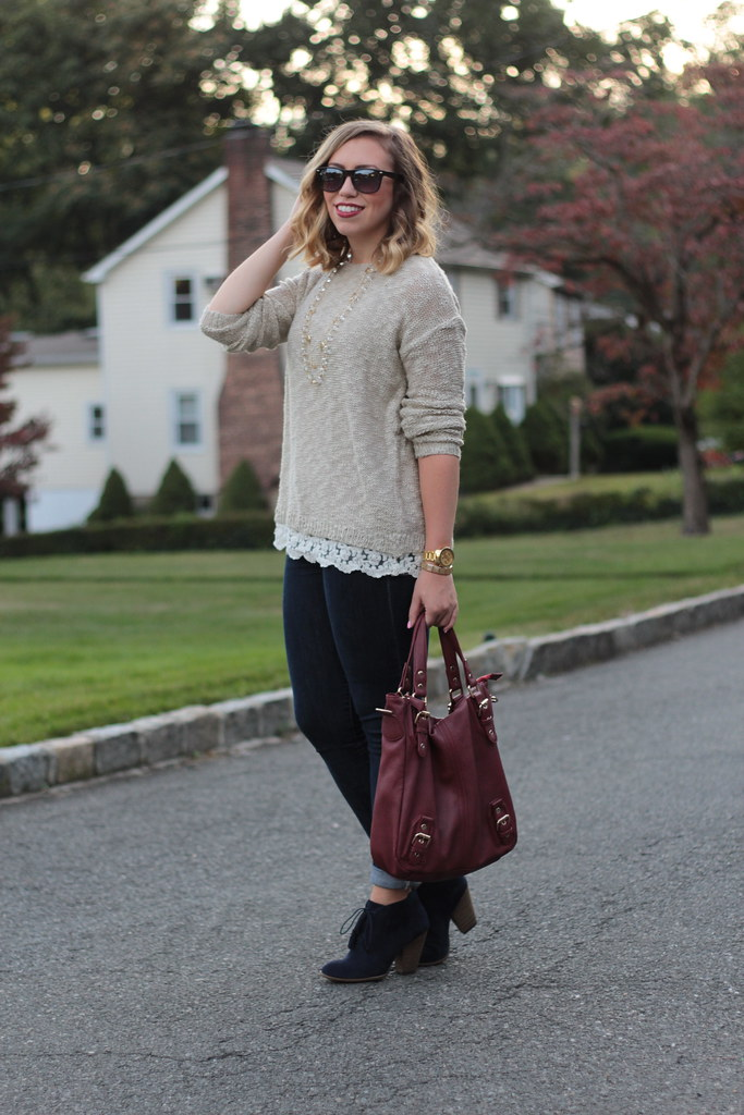 Clean & Simple Fall Fashion | Outfit | #LivingAfterMidnite