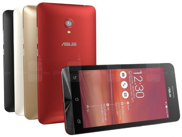 Android 4.4 для Asus Zenfone 4 и 5