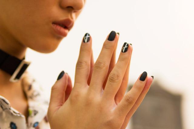 Antipodium London Fashion Week SS15 nail art